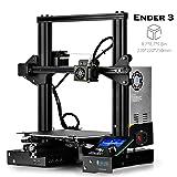SainSmart x Creality Ender-3 3D Printer, Resume Printing V-Slot Prusa i3 Home & School Use, Build Volume 8.7