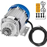 Mophorn 48V DC 750 Watt Electric Brushless Motor 6:1 Gear Reduction with 14 Tooth Gear for DIY Tricycle E-bikes Electric Scooters (Tamaño: 750W 48V Brushless)