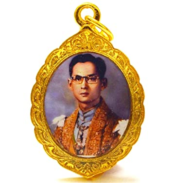 Pendant of Thai King Bhumibol Rama IX Reign 9