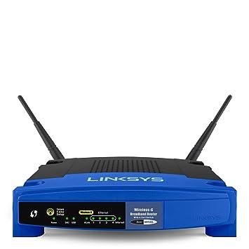 Routeur WiFi Linksys WRT54GL - 2,4 GHz - 54 Mo/s
