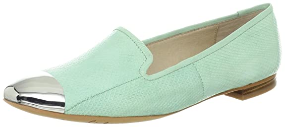 Sam Edelman Women's Aster Slip-On Loafer (Light Green)