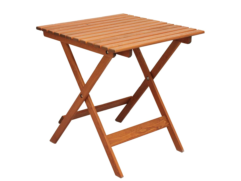 Ambientehome 90476 Gartentisch Bistrotisch Esstisch Klapptisch klappbar Holztisch Massivholz Lotta braun ca. 65×65 cm jetzt kaufen