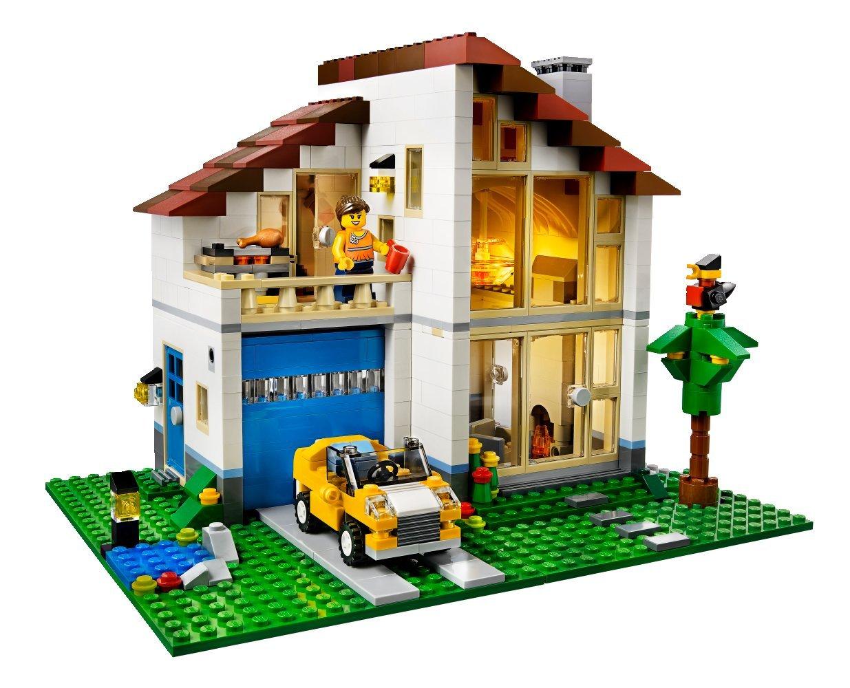 Making The Modular Creator Set 31012 Family House A Little