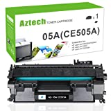 Aztech 05A CE505A Black Compatible 05A Toner Cartridge Replaces for HP 2035 HP 05A CE505A HP LaserJet P2055DN P2035N P2055D P2055X LaserJet P2055 P2035 P2030 P205 2035 2055 Toner Ink Black