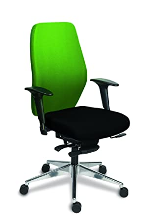 Melody Plus Active and Supportive Ergonomics SwivelHeight Adjustable Chair, Juniper Green
