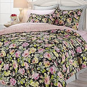 Amazon.com - Anna Griffin Grace 6-piece Reversible Cotton Comforter