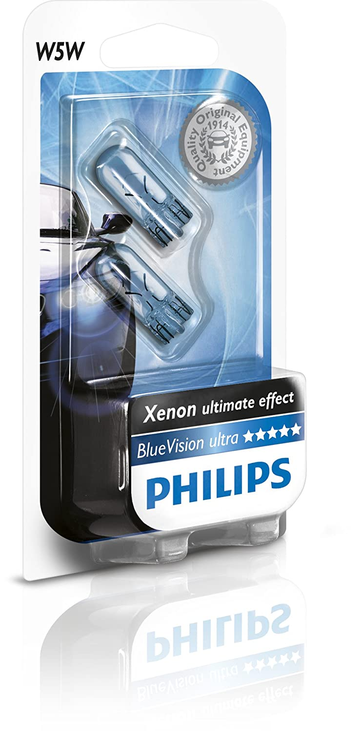 Philips 12V W5W Blue Vision 2 PCS