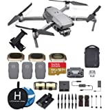 DJI Mavic 2 Pro (20 MP Hasselblad Camera) with Fly More Kit and with Most Wished for Accessories (3 Batteries, ND filters, iPad Mount, Extreme microSD Card and More)