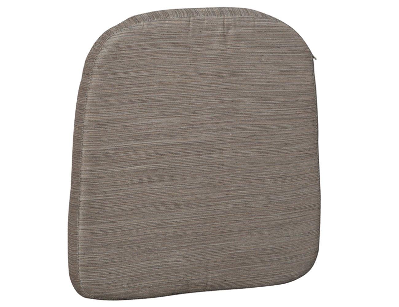 H.G. 4514517 Sitzkissen zu Sessel Bern, Amrum, Struktur taupe, 75% Polyester / 25% Baumwolle, L 46 x B 46 x H 5 cm