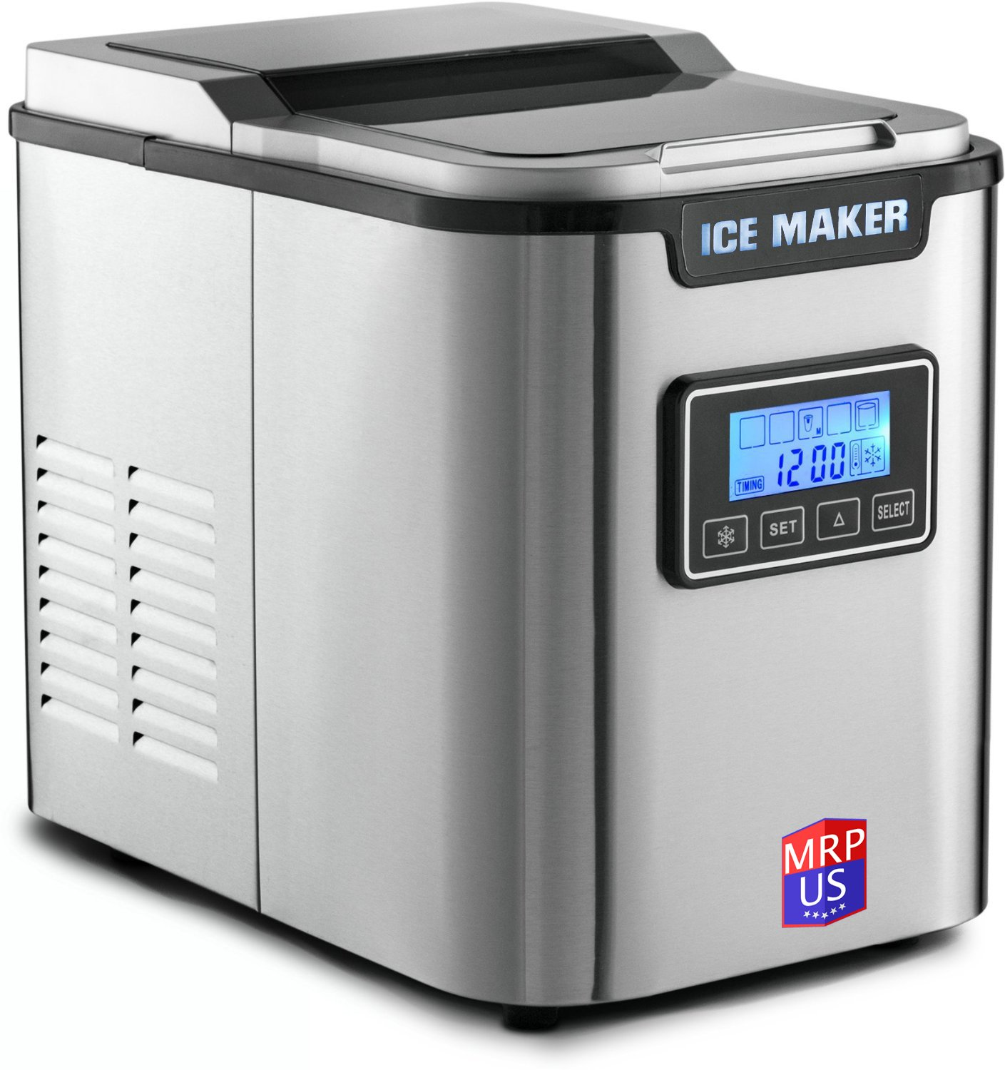Portable Stainless Steel Ice Maker