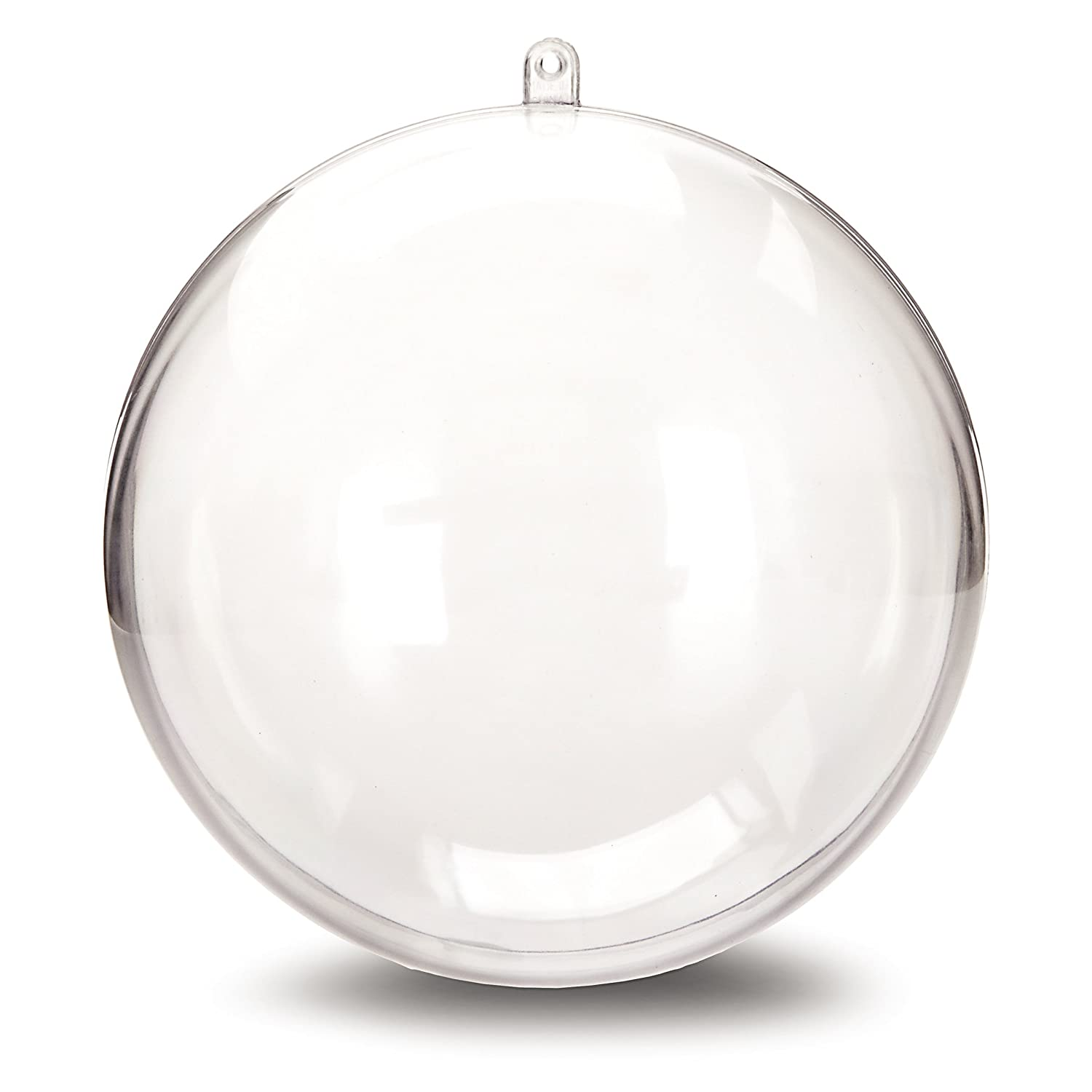 Glass globe ornaments - Buy Hanging Ball Ornament 140mm Clear Online At Low Prices In India Amazon In