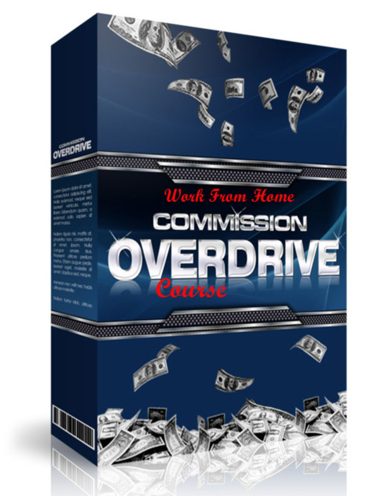 Work From Home: Commission Overdrive Course on Amazon Prime Instant Video UK