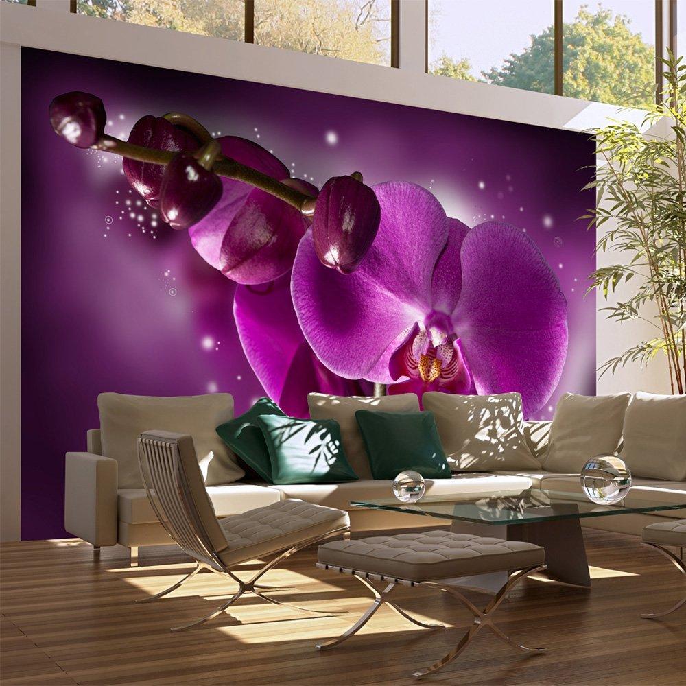 Vlies Tapete !!! Top !!! Fototapete !!! Wandbilder XXL !!! 450x270 cm  Orchidee !!! 100609066   Kundenbewertung und weitere Informationen