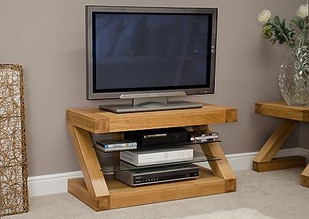 Z Oak Designer TV Unit