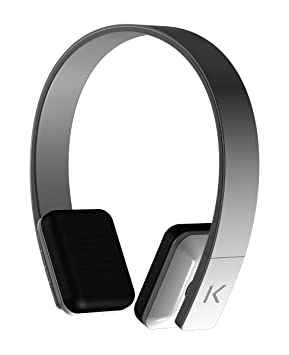 The Kase Collection UNIK SOUND Casque Stereo Bluetooth, Blanc Taille unique, blanc
