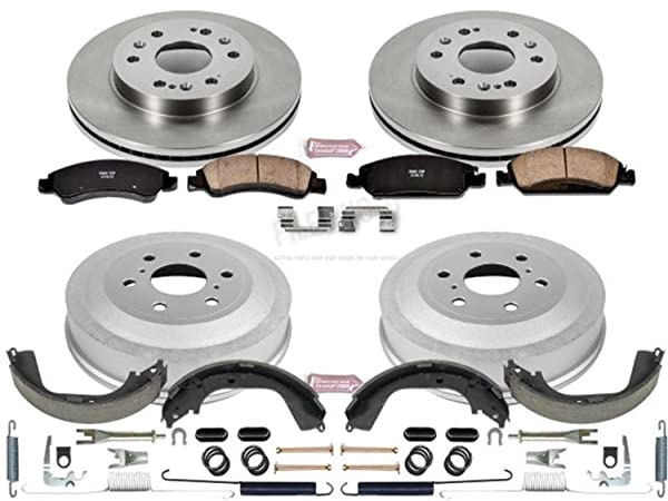 Power Stop Rear KOE15365DK Daily Driver Drum and Shoe Kits