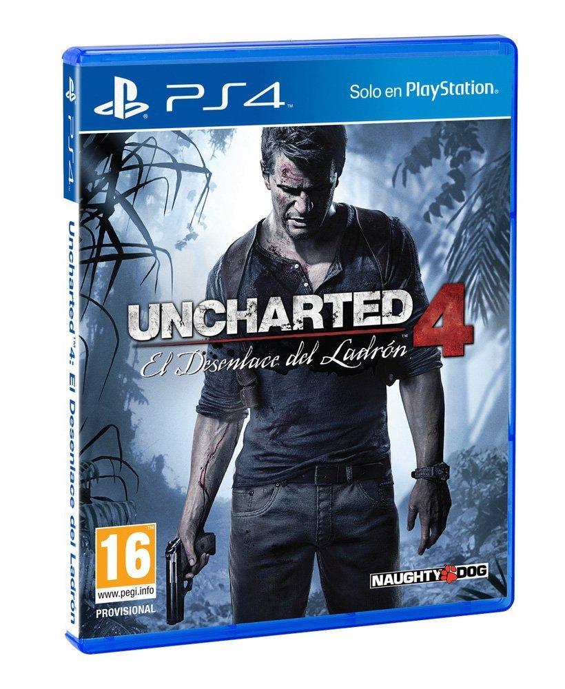 uncharted 4 para ps4 barato