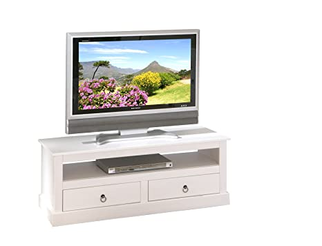 Links 20901530 Provence 3 - Mueble de Televisión (Pino), color blanco