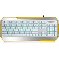 Jelly Comb LED USB Mechanical Gaming Keyboard with 7 Adjustable Colorful Backlights