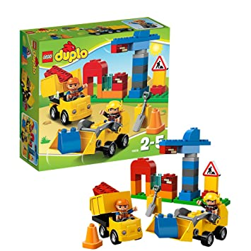 Lego Duplo Ville - 10518 - Jeu De Construction - Mon Premier Chantier