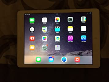 Apple iPad Air 16 Go - 9.7 pouces - argent - WiFi + Cellular - MD794FD/B