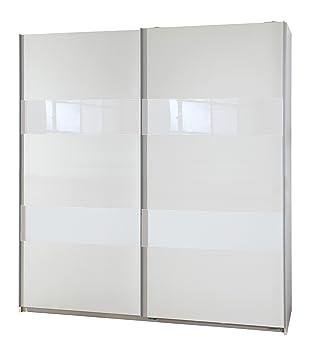 Wimex 007770 Schwebeturenschrank Front und Korpus, 135 x 198 x 64 cm, weiß