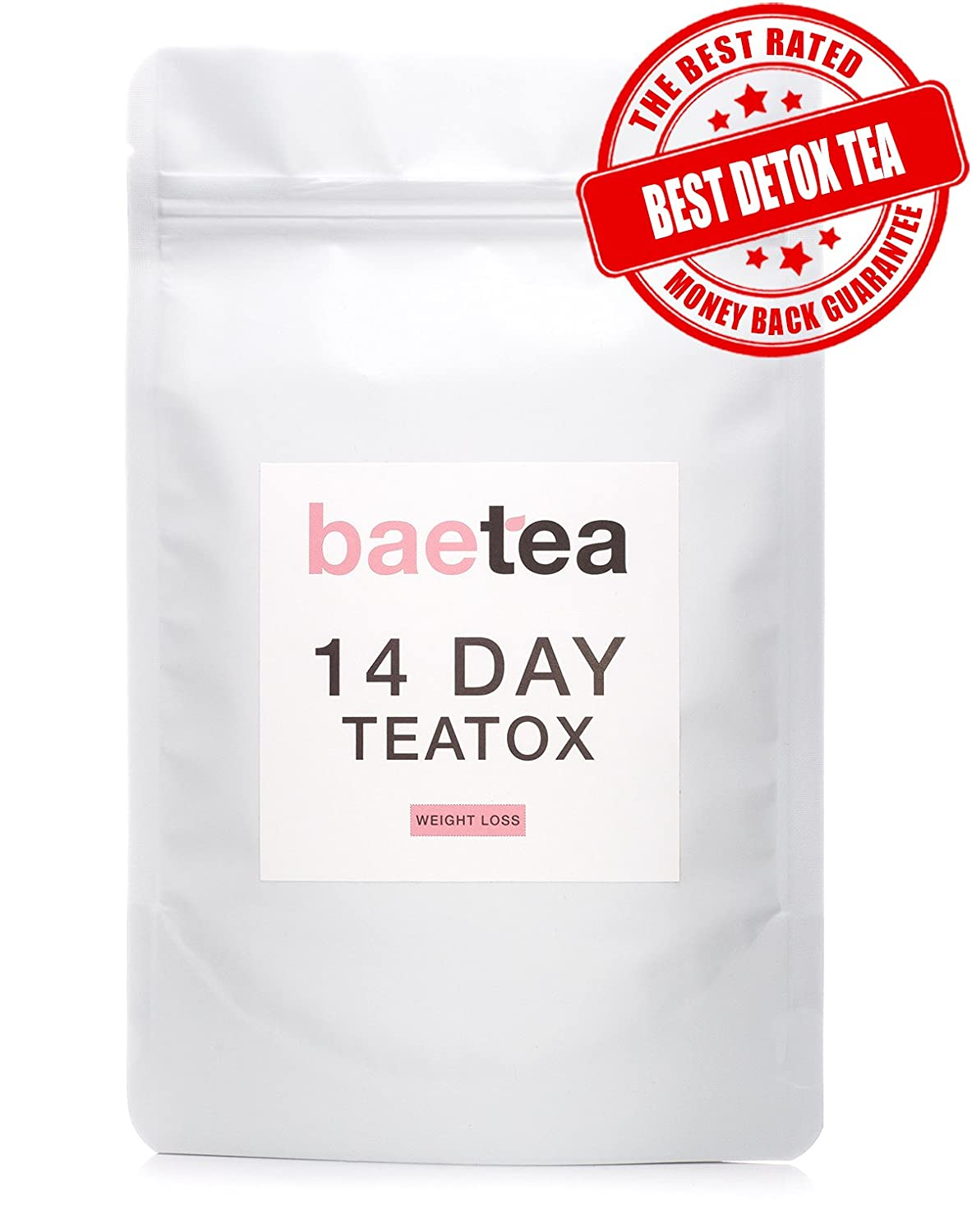 Baetea THE BEST Weight Loss Tea ● Detox + Body Cleanse + Appetite Suppressant