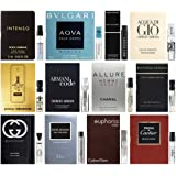 Best Selling Designer Fragrance Sampler for Men - Lot x 12 Cologne Vials
