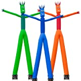 Inflatable HQ 26' Tall Air Inflatable Tube Puppet Set with Blower Fan - Blue (Color: Blue)