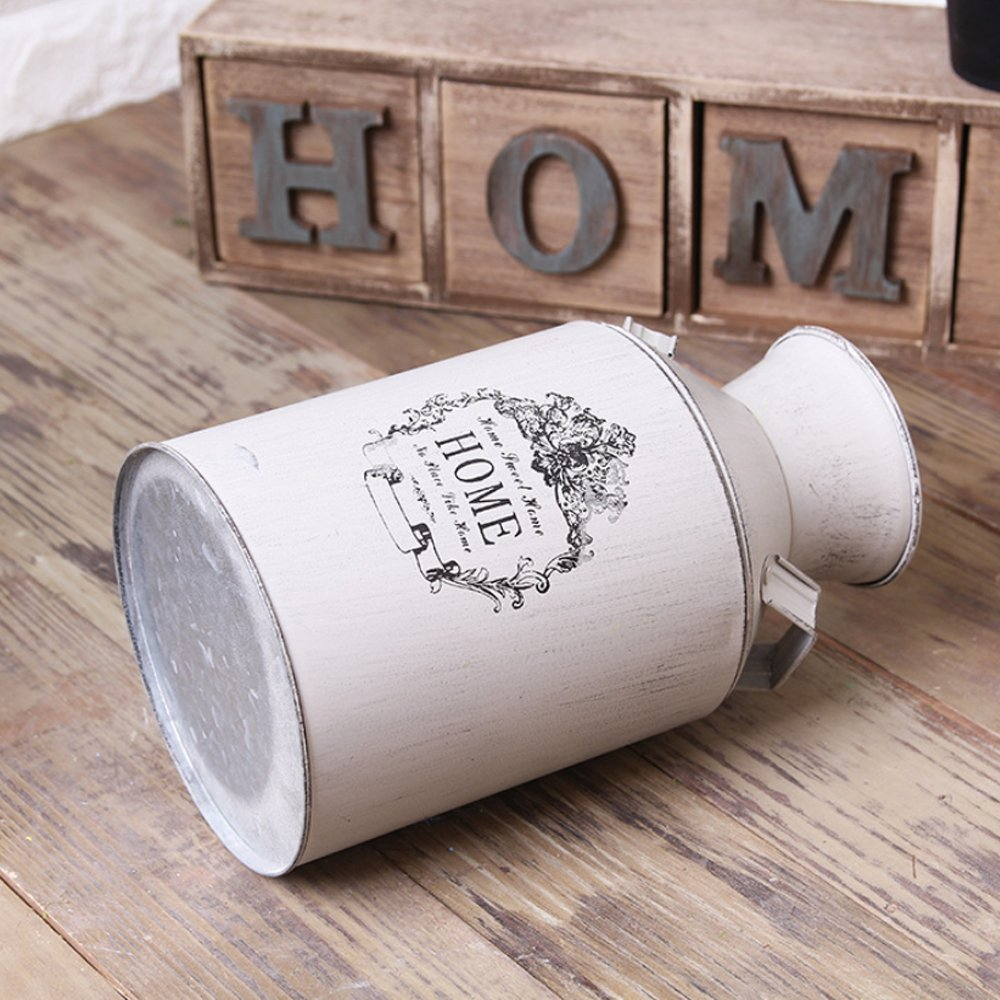 Country Rustic Milk Can for Home Decoration