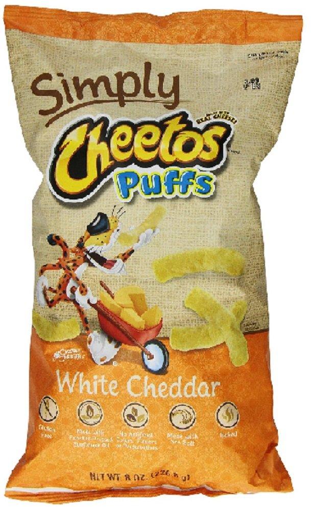 Cheetos natural white cheddar cheese puffs