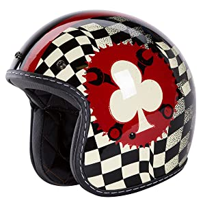 3/4 Retro Helmet [DOT]-
