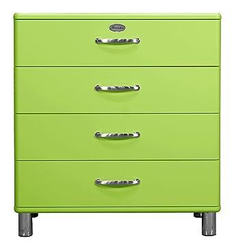 Tenzo 5124-021 Malibu - Designer Kommode 92 x 86 x 41 cm, MDF lackiert, grun