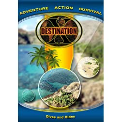 Destination x  Dives and Rides [Blu-ray]