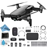 DJI Mavic Air Foldable Quadcopter Fly More Combo Bundle (Onyx Black) CP.PT.00000156.1 (Color: Black, Tamaño: Fly Now Bundle)