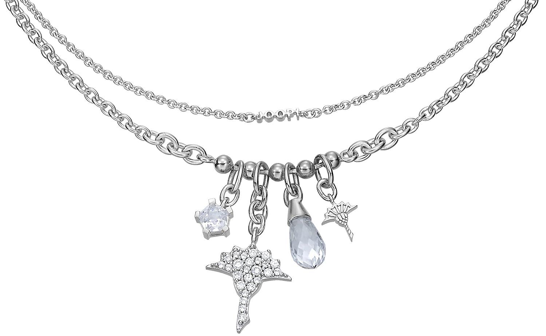 Joop! Damen-Halskette mit Anhänger 925 Sterling Silber gold JPNL90472A450