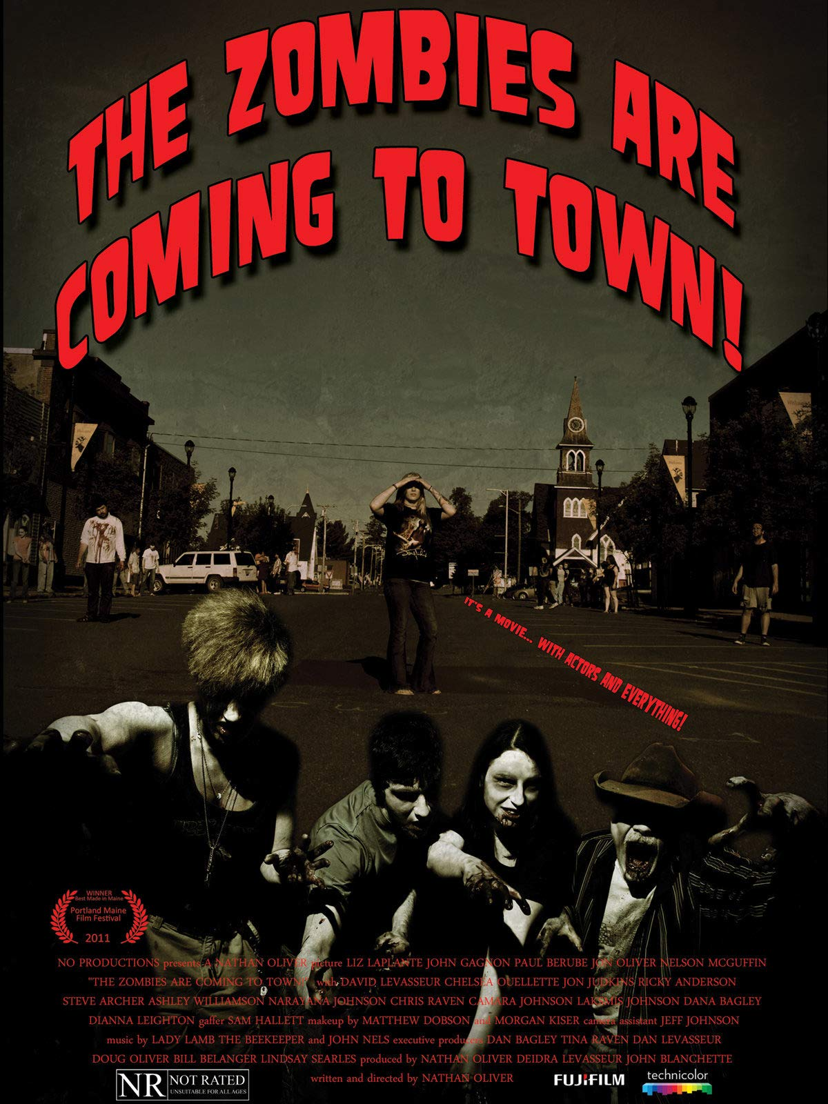 The Zombies are Coming to Town! on Amazon Prime Video UK