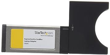 StarTech.com CB2EC Carte Adaptateur Convertisseur ExpressCard/34 vers PCMCIA CardBus