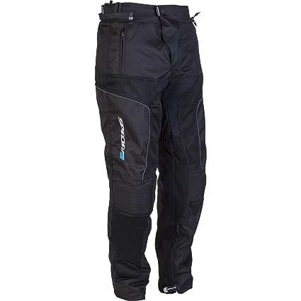 2015 nouveau pantalon Textile moto Spada Air Pro noir