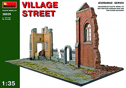 Mini Art 36029 Village Street 1:35 Plastic Kit Maquette
