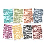 Simple Stories Snap Letters Bolds Color Vibe Stickers (8 Pack)