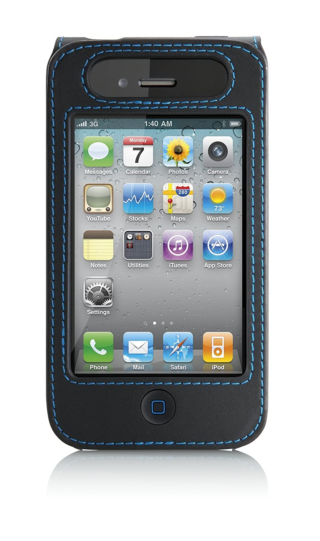 Belkin Verve Leather Case For Apple Iphone 4 4g 4s Cinema