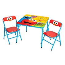 Activity Sesame Street Table And Chair Set