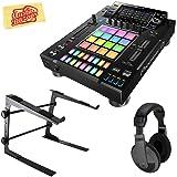 Pioneer DJS-1000 Standalone DJ Sampler Bundle with Stand, Headphones, and Austin Bazaar Polishing Cloth (Color: Bundle w/ Stand, Tamaño: DJS-1000)