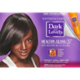 SoftSheen-Carson Dark and Lovely Healthy-Gloss 5 Shea Moisture No-Lye Relaxer - Super (Tamaño: 1 Count)