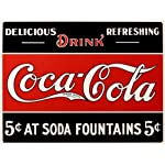 Coca- Cola Tin Sign 16 x 13in