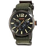 BOSS Orange Men's 1513312 Paris Analog Display Japanese Quartz Green Watch (Color: black)