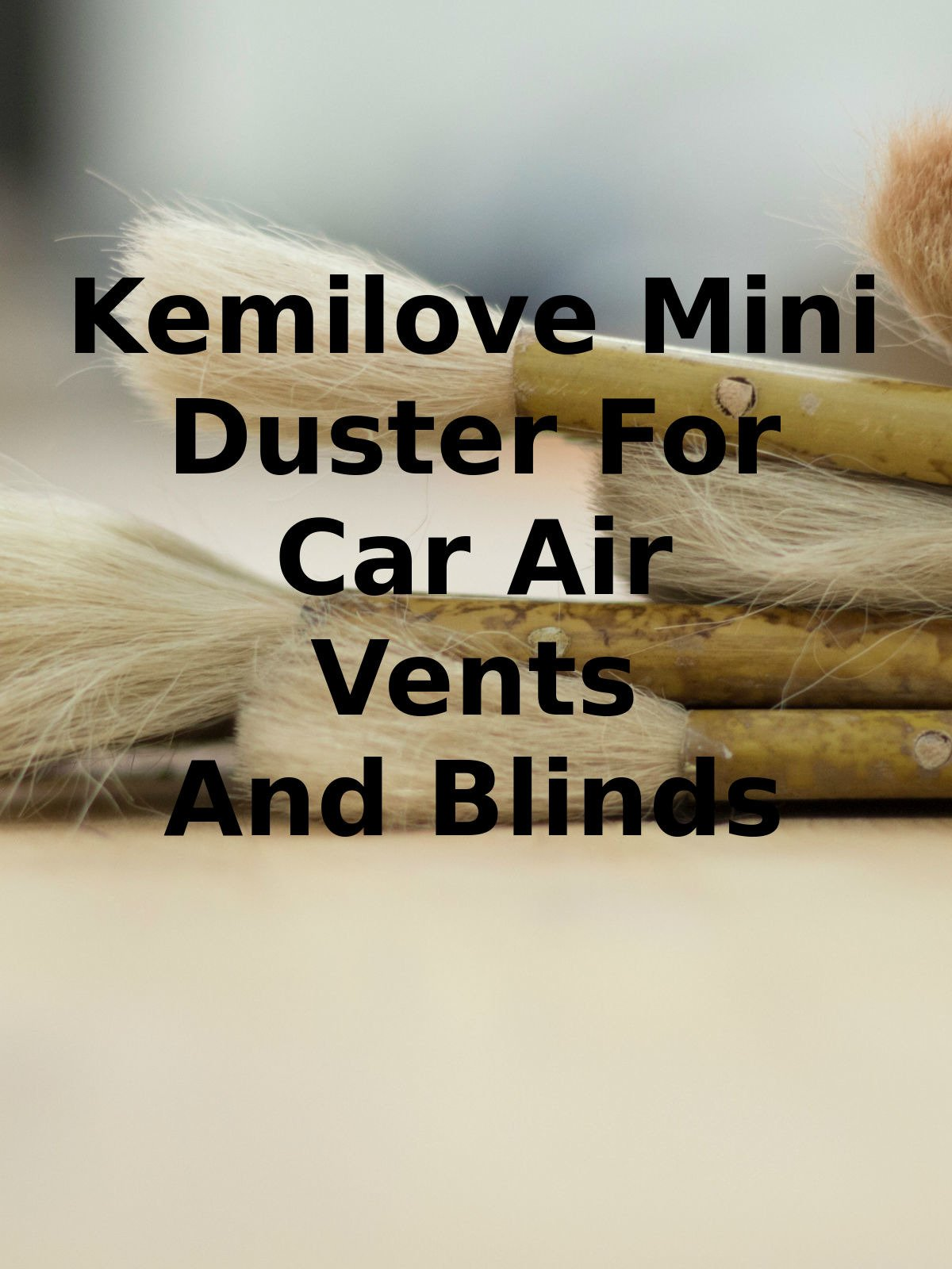 Review: Kemilove Mini Duster For Car Air Vents And Blinds