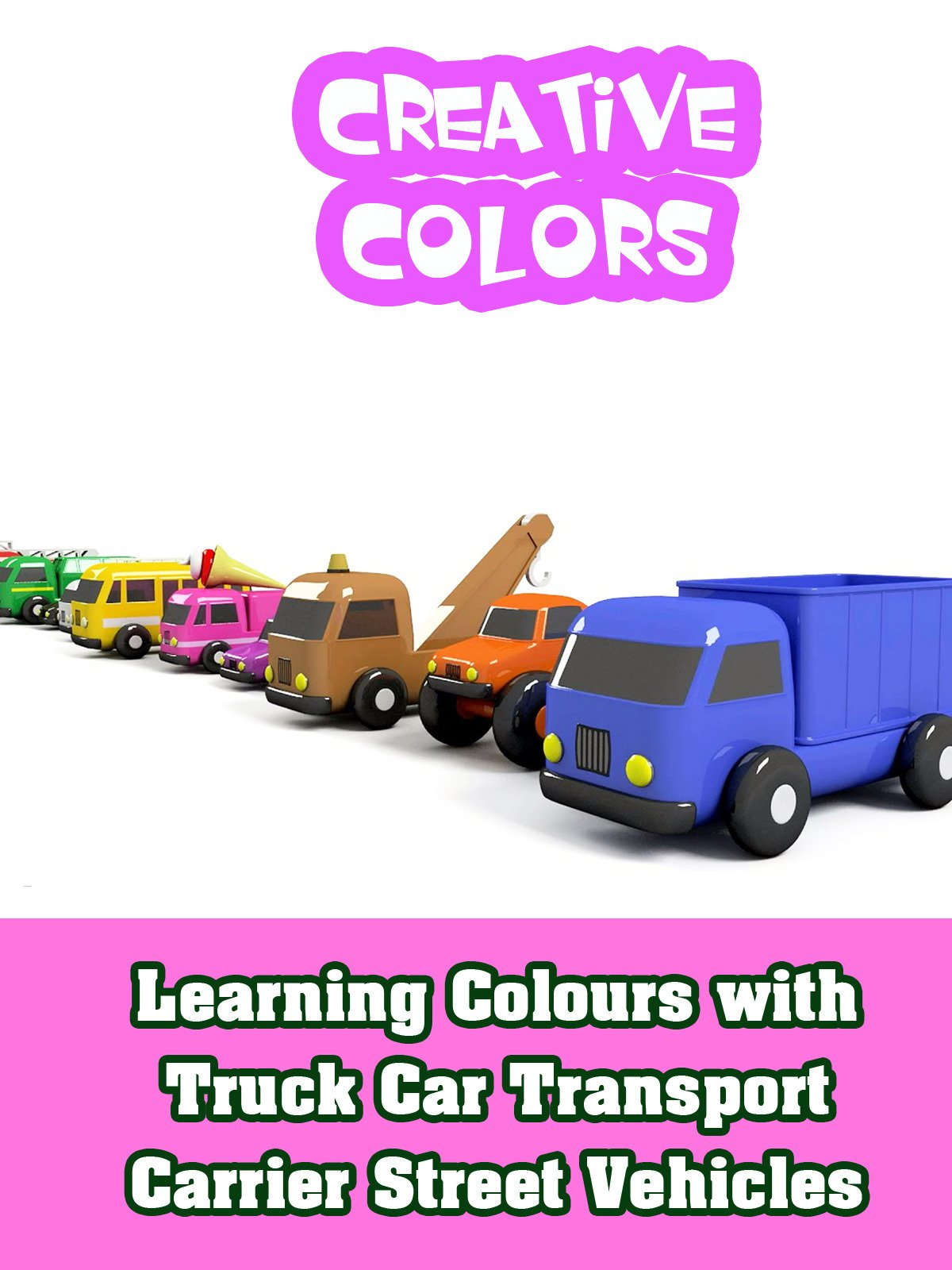 Learning Colours with Truck Car Transport Carrier Street Vehicles on Amazon Prime Video UK