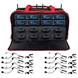 VOCOPRO UDH-PLAY-8-MIB EIGHT CHANNEL WIRELESS HEADSET/LAPEL MICROPHONE SYSTEM IN A BAG (Tamaño: UDH-PLAY-8-MIB)